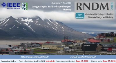 Scientific paper accepted for RNDM 2018